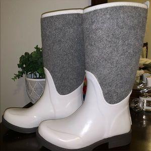 Brand new knee-length UGG rain boots!